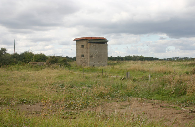 World War II observation tower, East Lane, Bawdsey