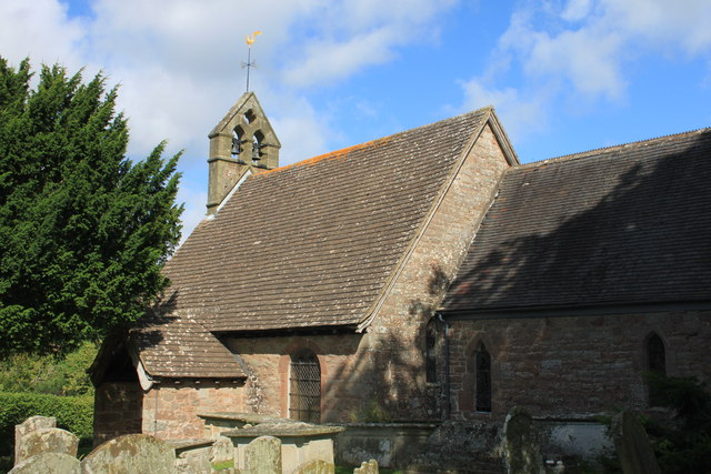 St Michael's church in Hope Mansell