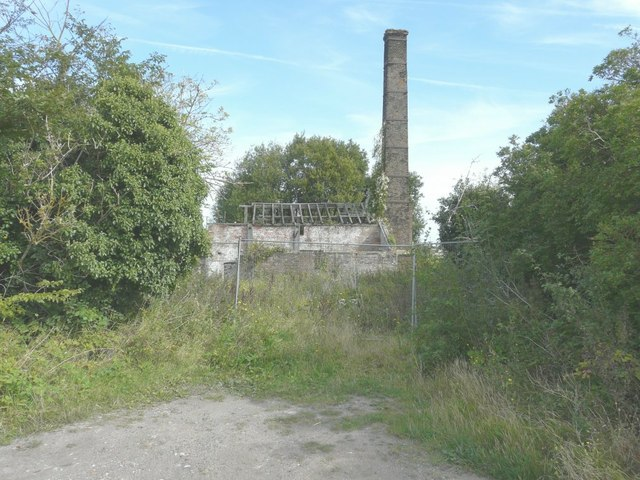 Derelict building of former Abbey Brickfield
