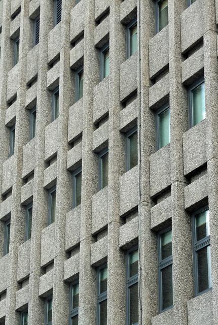 Detail of Tower Building, Clifton Boulevard, Nottingham