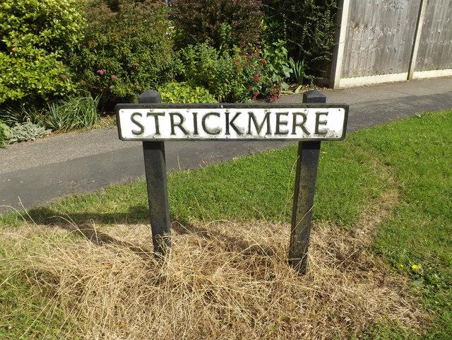 Strickmere sign