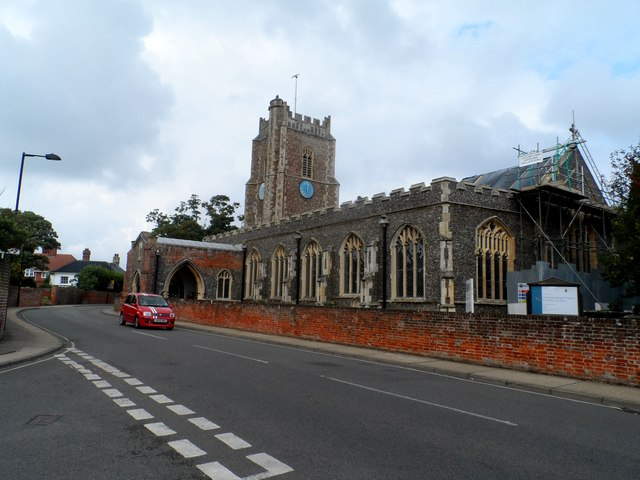 St Peter and St Paul, Aldeburgh