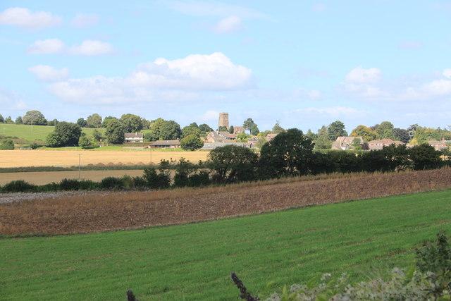 Farmland between Ryeford and Weston-under-Penyard
