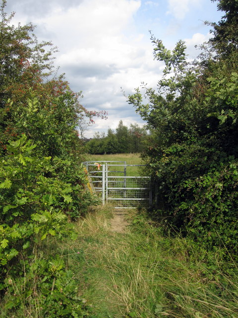 Gate on the path to Ashby