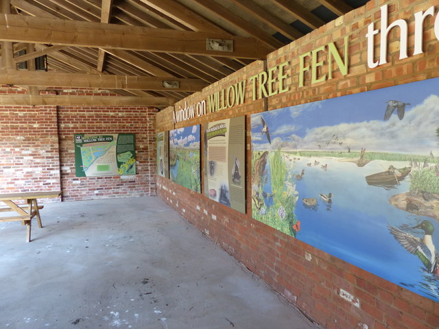 Willow Tree Fen Nature Reserve information centre