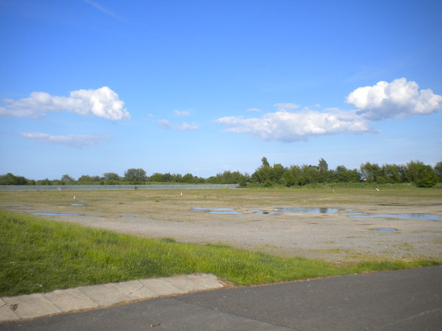 Waste ground off Kingsway, Humberston