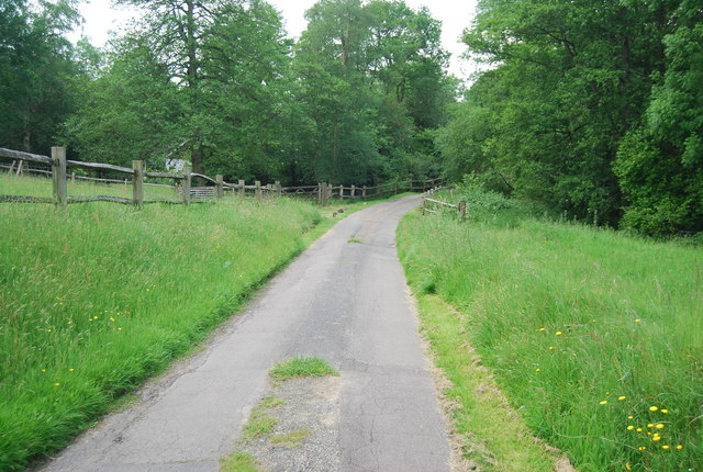 Footpath to Brooklands