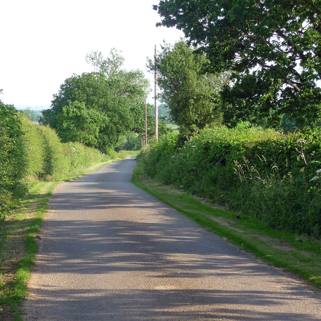 Slade Lane near Kedleston