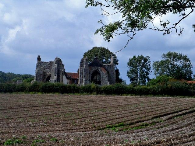 Remains of Leiston Abbey