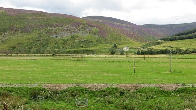 Tweed flood plain