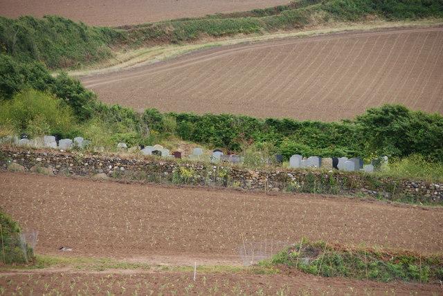 Cemetery in Marazion