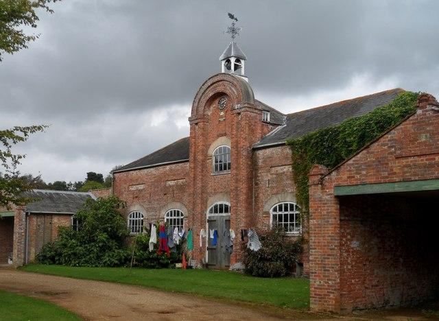 Theberton House stable block