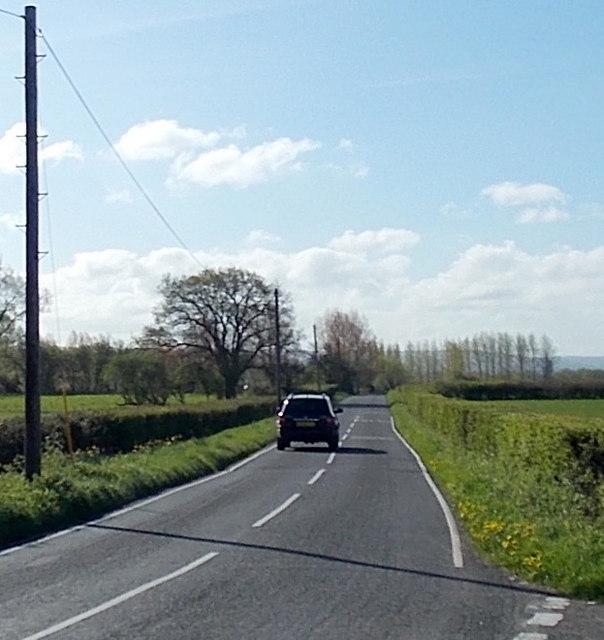 Moor Road towards Yatton