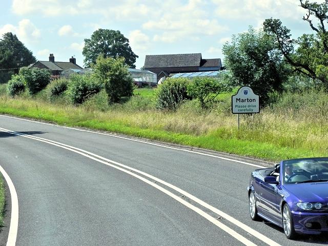 Congleton Road, Marton