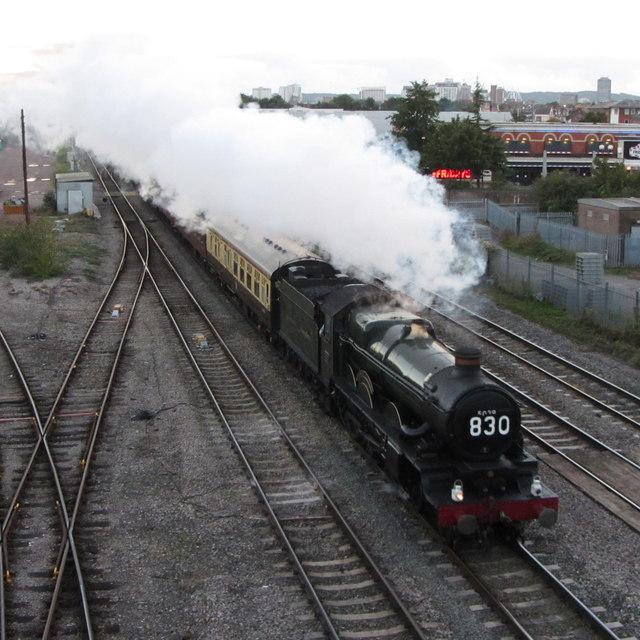 Railtour near Cardiff