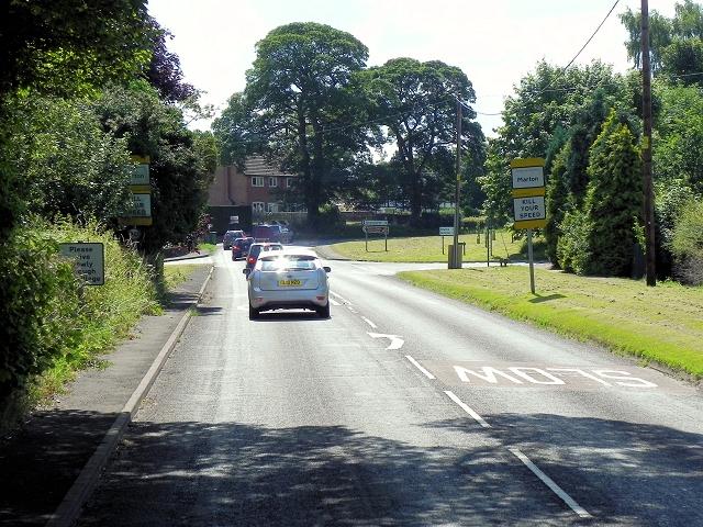 Congleton Road (A34), Marton