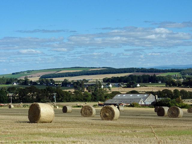 Farmland around Wester Strath of Auchterflow