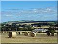 NH6658 : Farmland around Wester Strath of Auchterflow : Week 35