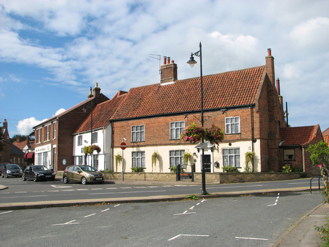 Houses beside Old Road, Acle