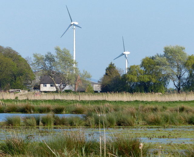 Wind turbines at Bank House Farm