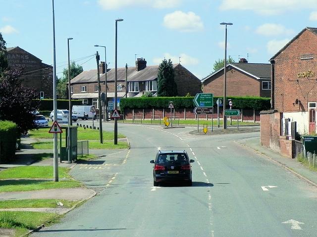 Congleton, Macclesfield Road (A34)