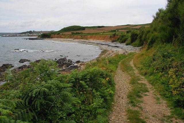 Track to Trenow Cove