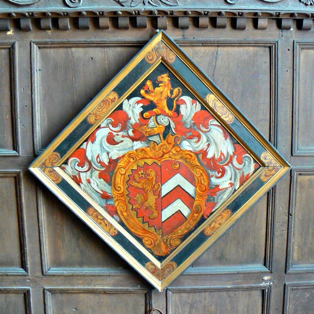 Hatchment, Chastleton House, Chastleton, Oxfordshire