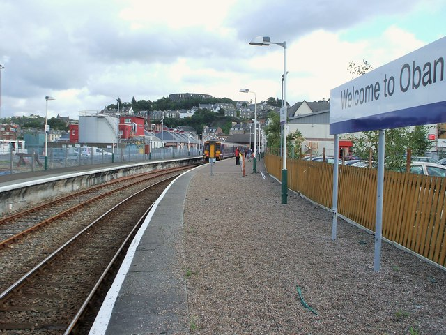 Oban railway station, Argyll and Bute