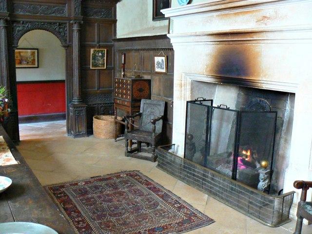 Dining hall, Chastleton House, Chastleton, Oxfordshire