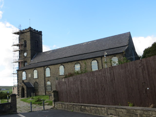 The Church of St James at Haslingden