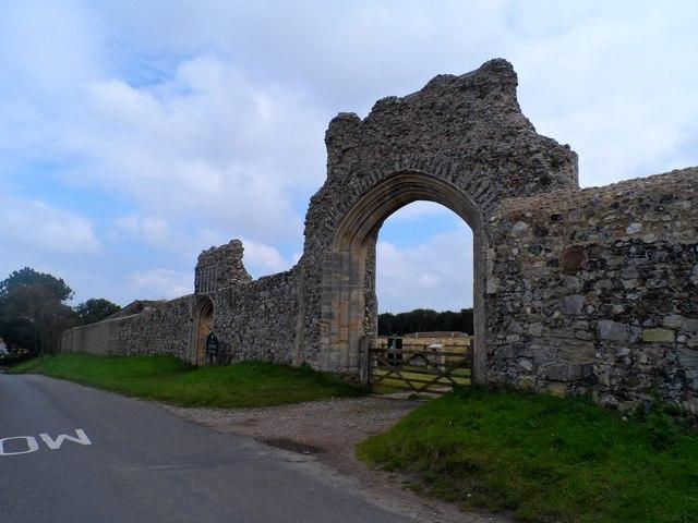 Remains of Greyfriars Franciscan priory