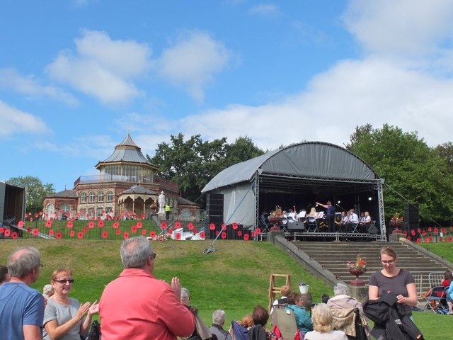 'Remember Them' Festival of Music at Mesnes Park, Wigan