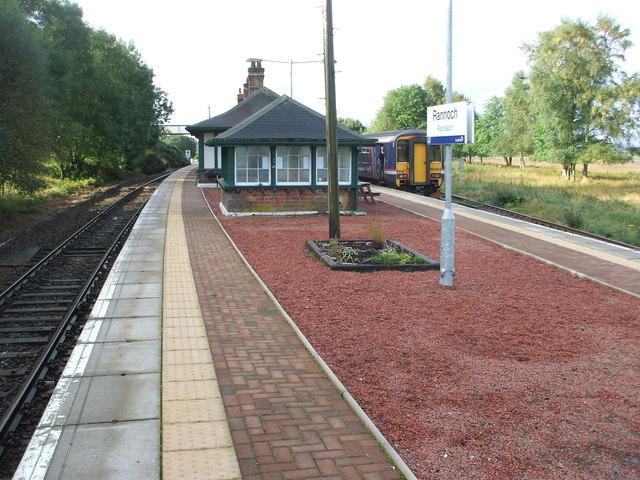 Rannoch railway station, Perth & Kinross