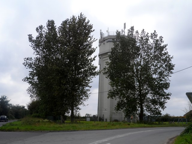 Water tower near Blythburgh