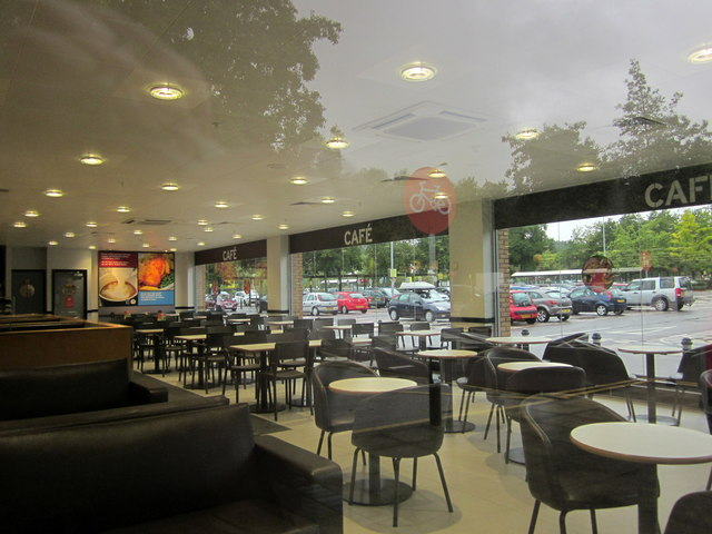 Cafe, Sainsbury's, The Willows