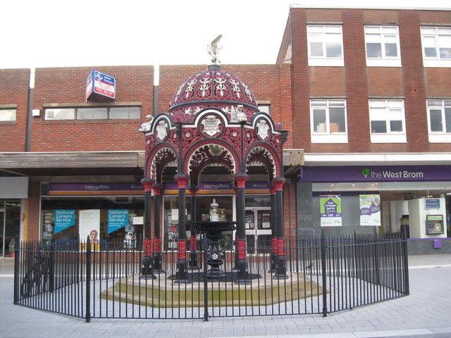 Farleys fountain-West Bromwich, West Midlands