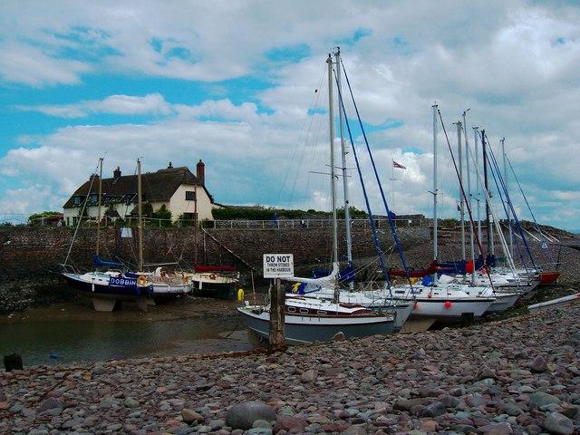 Porlock Weir - boats