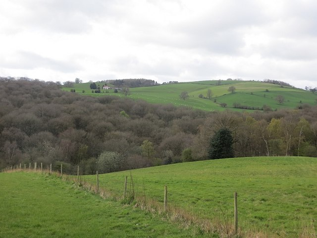 View towards Knowle Hill