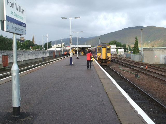Fort William railway station, Highland