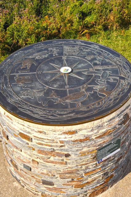 North Devon : Toposcope
