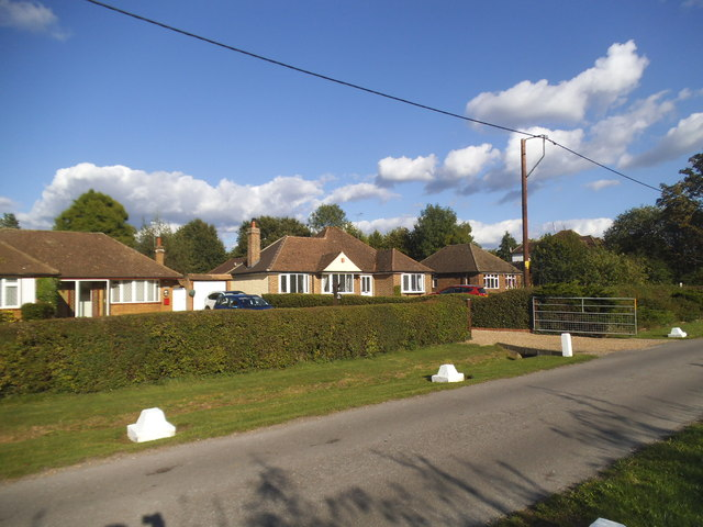 Bungalows on Ashtead Woods Road