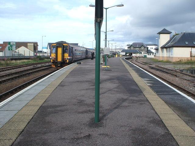 Mallaig railway station, Highland