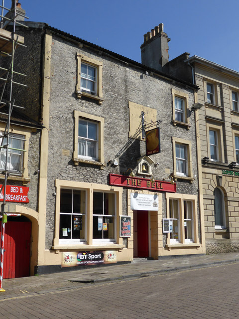 The Bell, public house - Shepton Mallet