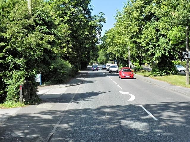 Congleton, Sandbach Road (A34)