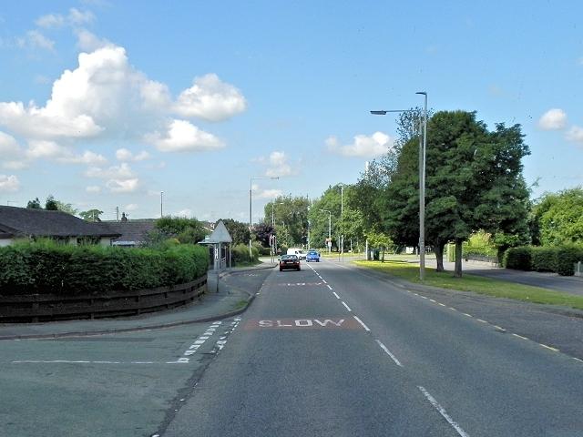A534, Sandbach Road