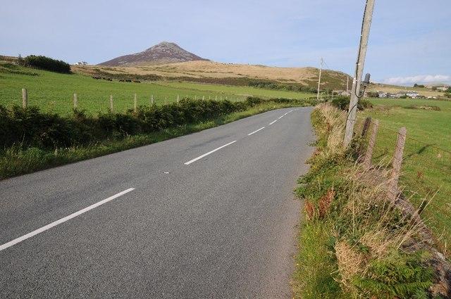 The B4417 west of Llithfaen