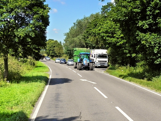 Layby on the A534, West of Congleton