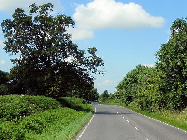 A534 near Brookhouse Green