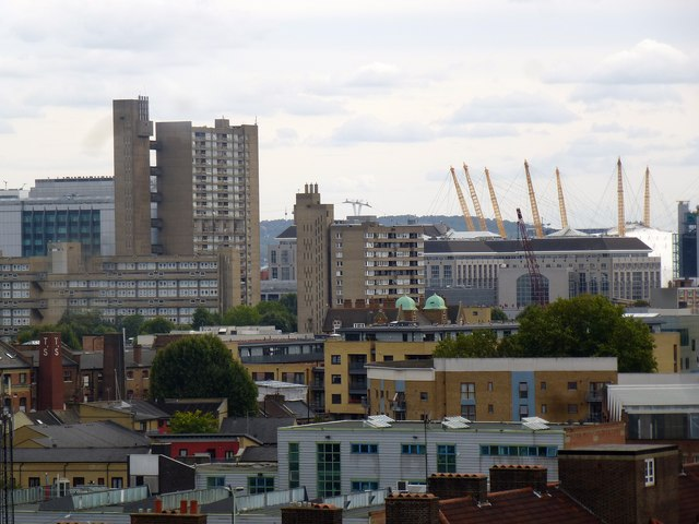 East London view