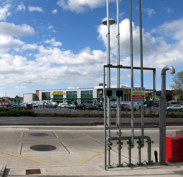 Morrisons and fuel pipes
